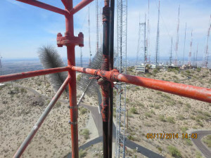 PDD-1900 lightning protection - radio tower 2