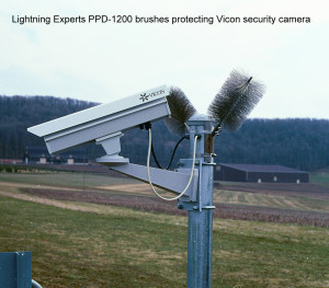 PPD-1200 protecting Vicon Security Camera-2